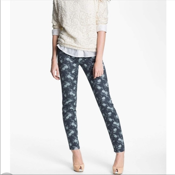 Kut from the Kloth Denim - Kut from the Kloth Floral Diana Skinny Jeans Sz. 8